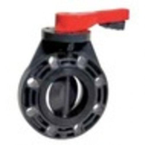 Przepustnica PVC 5300-5301 (EPDM lub Viton, dysk: PCV, korpus: PCV)